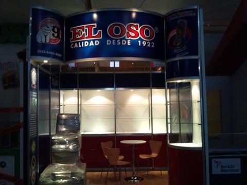 Expo Art   Diseño de stands para expos   Cliente: El Oso