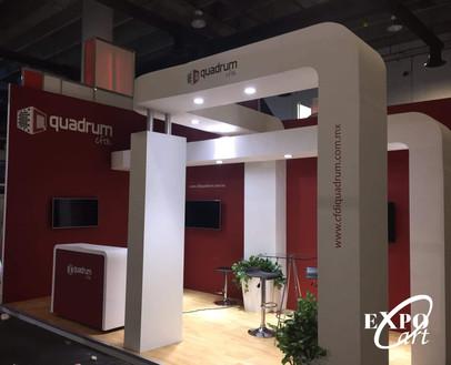 Expo Art   Diseño de stands para expos   Cliente: Quadrum