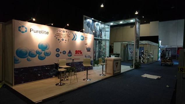 Expo Art   Diseño de stands para expos   Cliente: Purolite