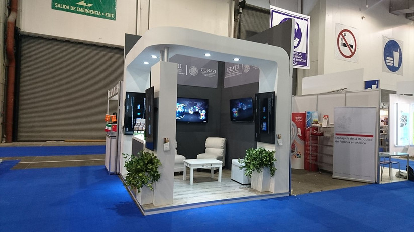 Expo Art   Diseño de stands para expos   Cliente: Conavi