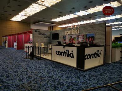 Expo Art   Diseño de stands para expos   Cliente: Contiki