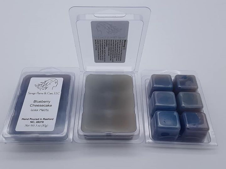 Blueberry Cheesecake Square Wax Melts 3 oz
