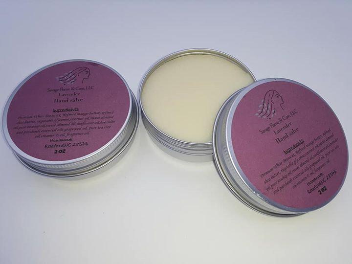lavender hand salve 2 oz tins