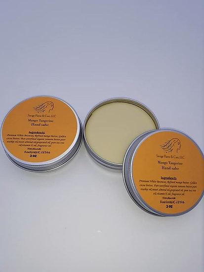 Mango Tangerine Hand Salve 2 oz tins