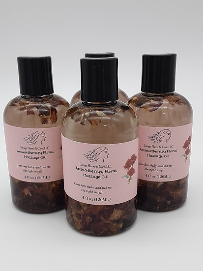 Aromatherapy Floral Massage Oil