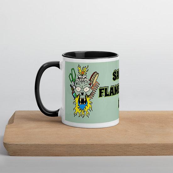 Savage custom art Mug with Color Inside
