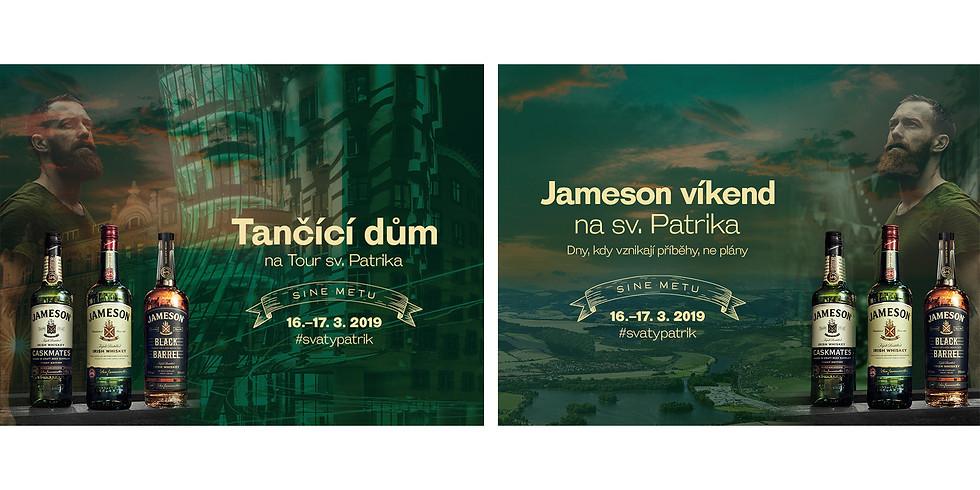 ST. PATRICK TOUR IN DANCING HOUSE   TANČÍCÍ DŮM NA TOUR SV. PATRIKA