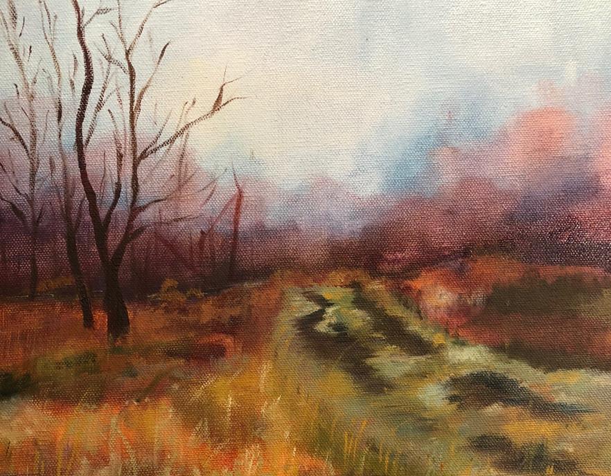 Adult Class Landscape in Oil