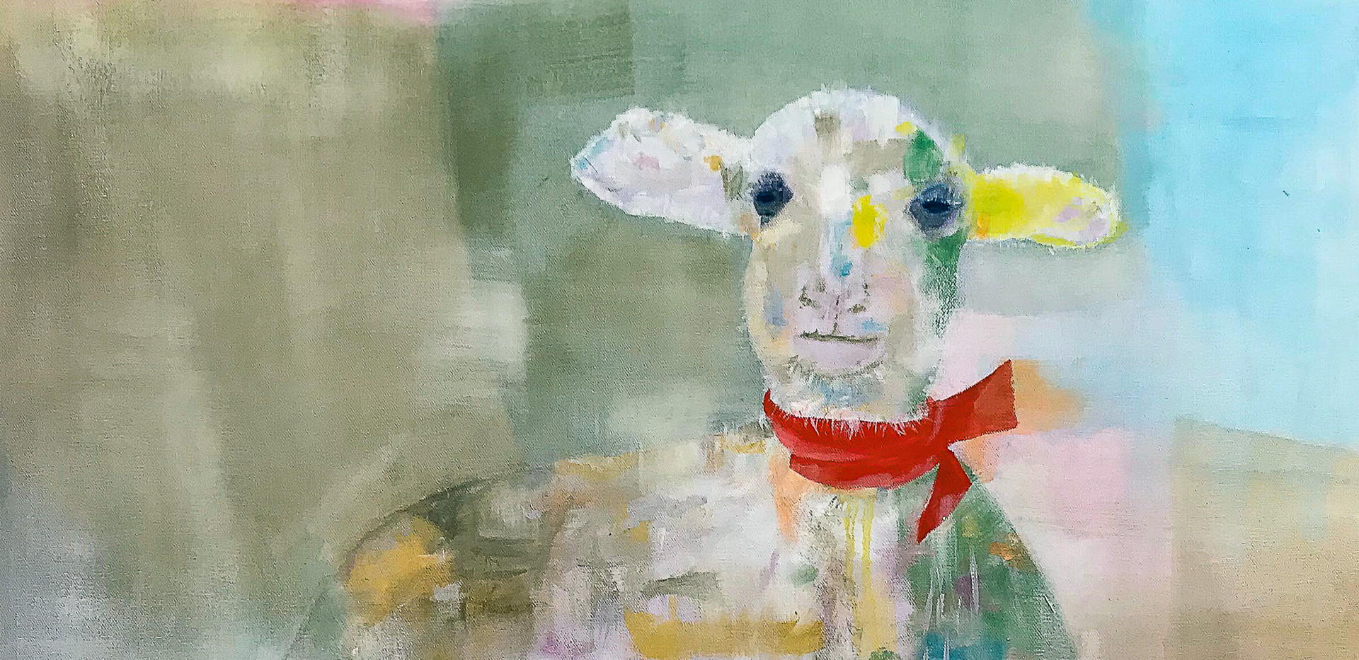 Abstract Lamb in Oil