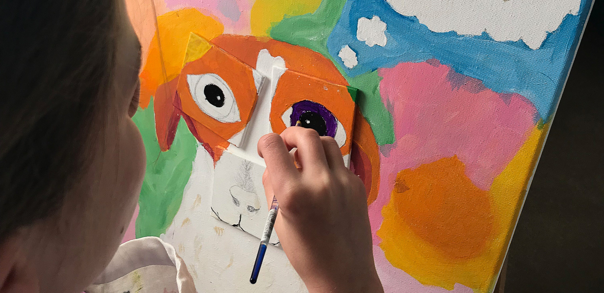 Children's Class Pet Painting