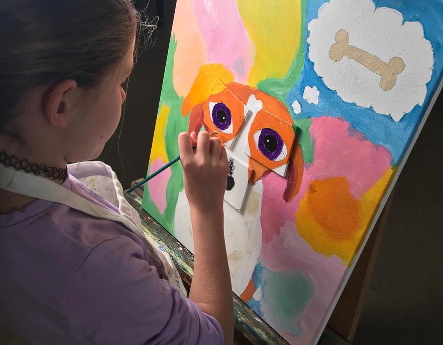 Children's Class Pet Painting