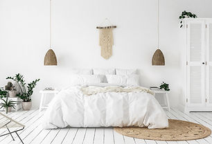 Concept de chambre blanche