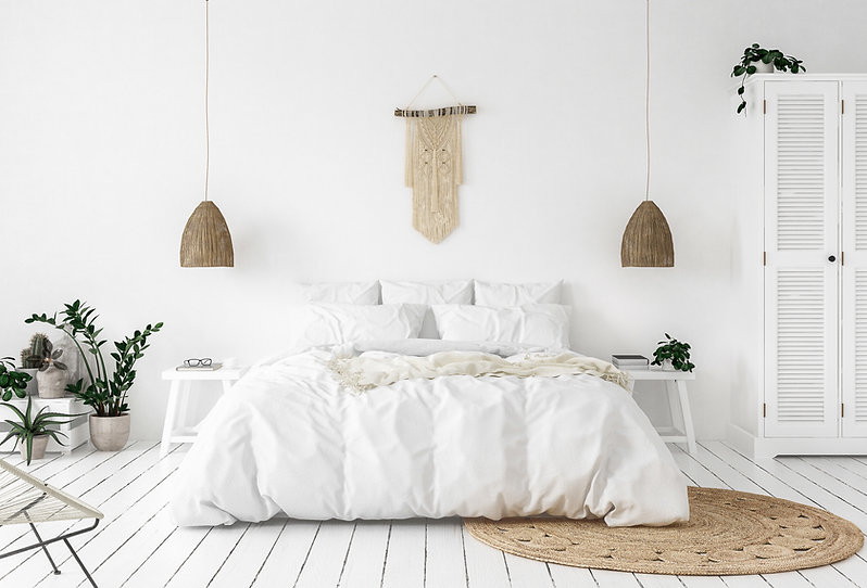 White Bedroom Concept