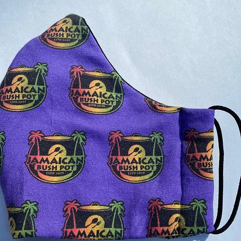 Bushpot Mask Purple