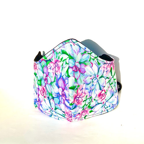 Multicolored Flower mask