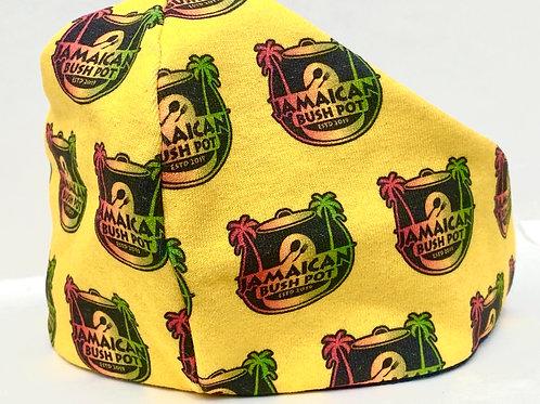 Bushpot Mask Yellow