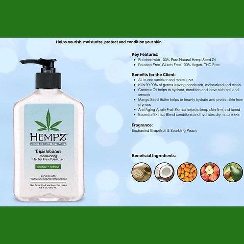 Triple Moisture Moisturizing Herbal Hand Sanitizer