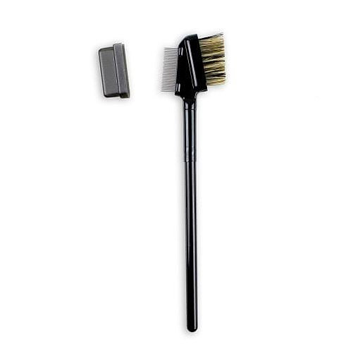 METAL EYELASH COMB & BROW BRUSH DUO