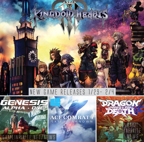 New Game Tuesday, Games Releasing 1/29-2/4