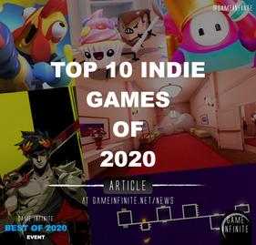 Top Ten INDIE Games of 2020