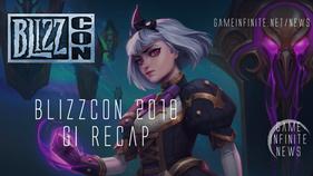 Blizzcon 2018 Recap