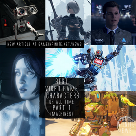 Best Video Game Characters - Part 1 (Robots/Machines/AI)