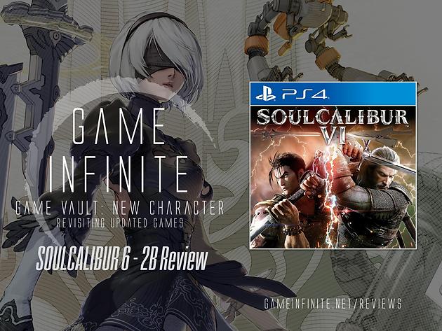 SOULCALIBUR VI - 2B Character DLC Game Vault Review | gameinfinite net