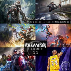 New Game Tuesday - September 2020