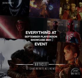 Playstation Showcase September 2021 - Event Recap