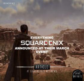 Square Enix Presents 2021, Everything announced - Event Recap