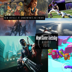 New Game Tuesday - August 2020