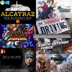 New Game Tuesday, Games Releasing 4/9 - 4/15