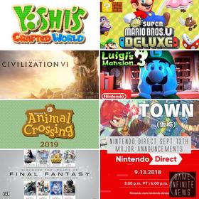 Nintendo Direct September Recap