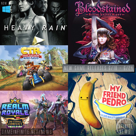 New Game Tuesday, Games Releasing 6/18 - 6/24