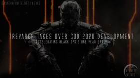 Treyarch takes over COD 2020, accelerating Black Ops 5 a year early.