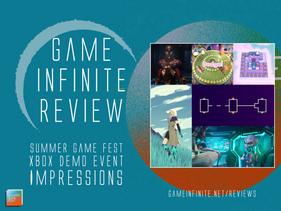 Xbox Summer Demo Event - Impressions