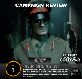 Call of Duty Black Ops Cold War (CAMPAIGN) - Game Infinite Review