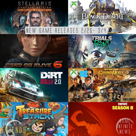 New Game Tuesday, Games Releasing 2/26 - 3/4