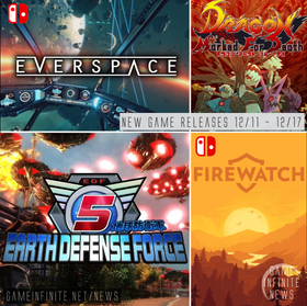 New Game Tuesday 12/11-12/17