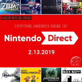 Nintendo Direct February 2019 Recap!