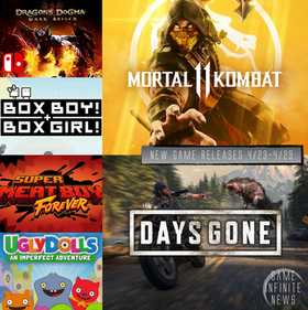 New Game Tuesday, Games Releasing 4/23 - 4/29
