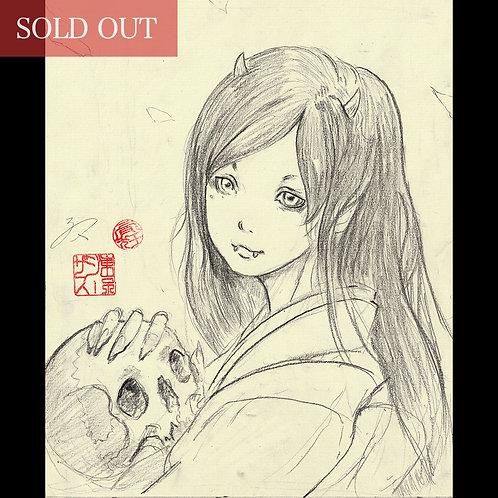 """Drawing """"Oni Matsuri"""" -鬼祭り- """""""