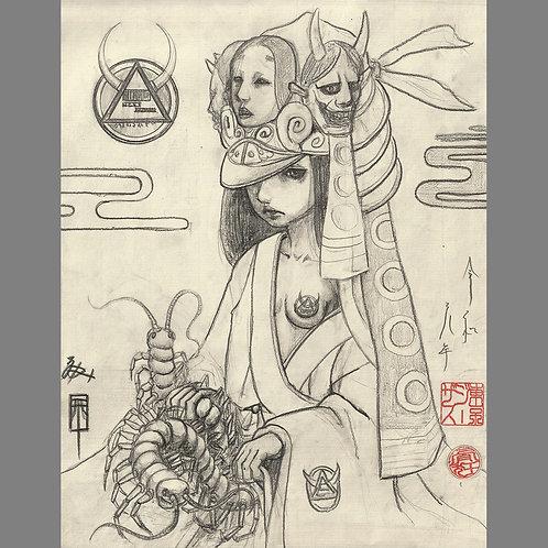 "Drawing ""Secret Messenger"""