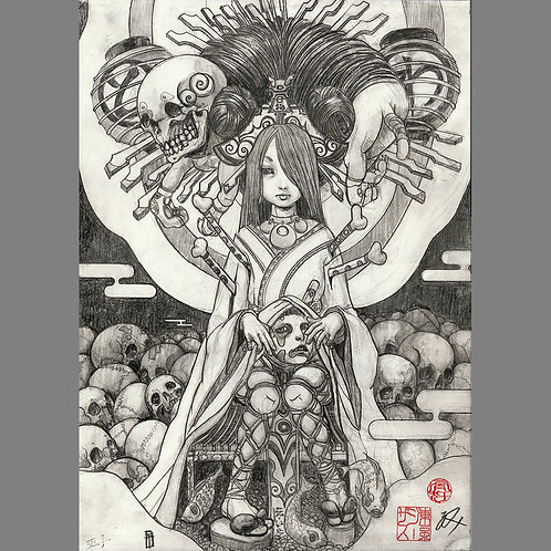 """Special drawing """"Eternal World"""""""