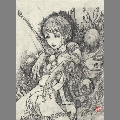 "Drawing ""Arm Bringer"""