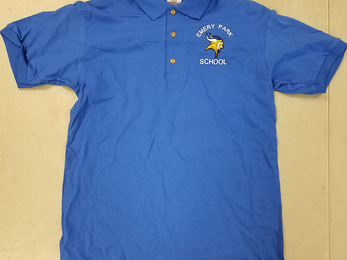 Royal Blue Emery Park Polo Shirt