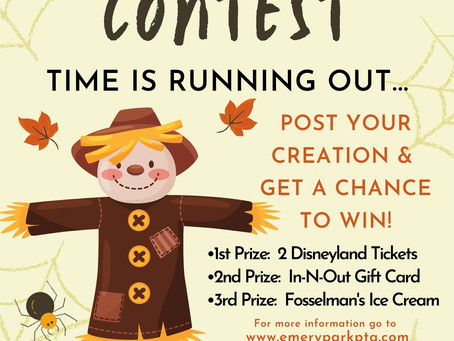 P.T.A & A.S.B. Presents Scarecrow Contest