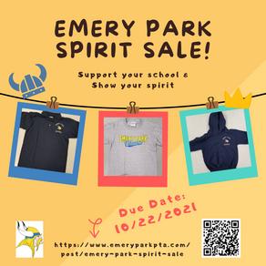 Emery Park Spirit Sale