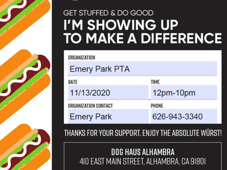 November Friendraiser - Dog Haus