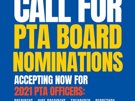 PTA Executive Board Election